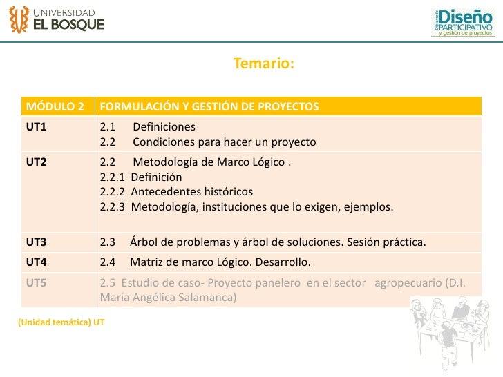 Formulacion y gestion de proyectos ap Slide 3
