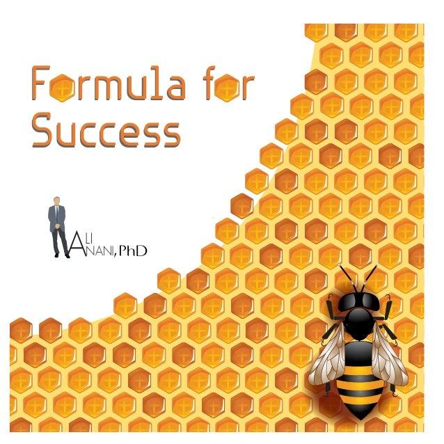Formula for Success Formula for Success