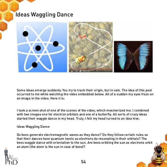 54 Ideas Waggling Dance Some ideas emerge suddenly. You try to track their origin, but in vain. The idea of this post occu...