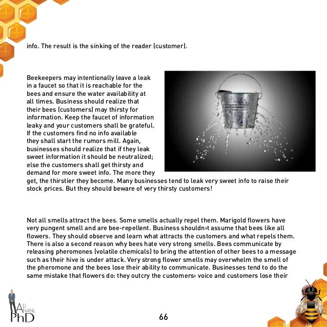 66 info. The result is the sinking of the reader (customer). Beekeepers may intentionally leave a leak in a faucet so that...