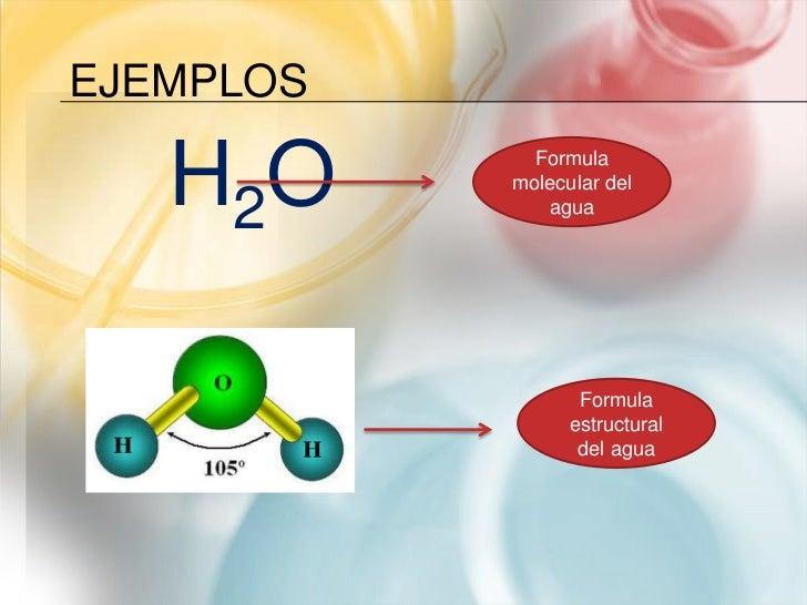 Formula molecular mol y balanceo