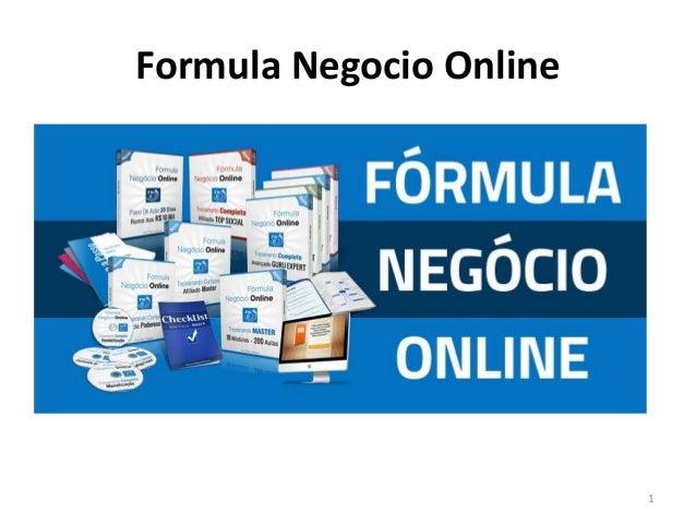 Formula Negocio Online 1