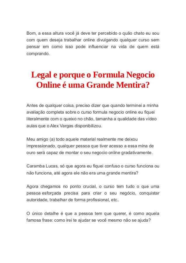 fórmula de negócio online youtube