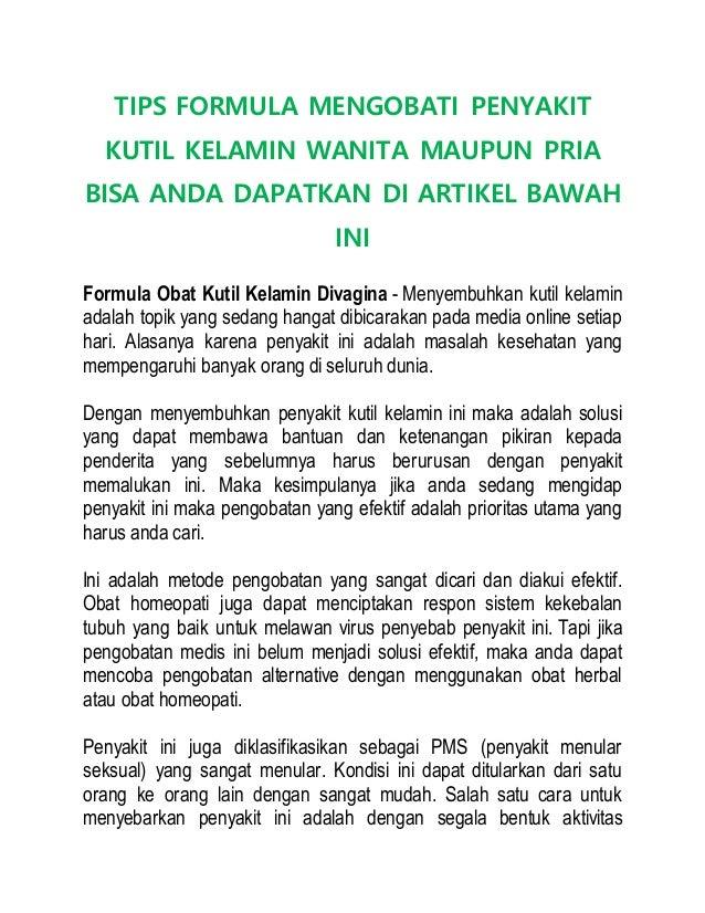 TIPS FORMULA MENGOBATI PENYAKIT KUTIL KELAMIN WANITA MAUPUN PRIA BISA ANDA DAPATKAN DI ARTIKEL BAWAH INI Formula Obat Kuti...