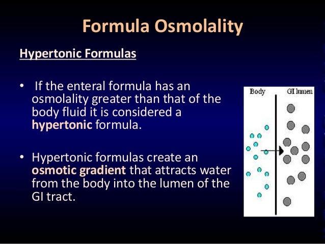 finding osmolarity