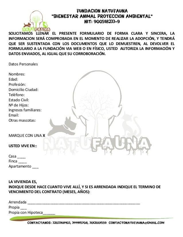 SOLICITAMOS  LLENAR  EL  PRESENTE  FORMULARIO  DE  FORMA  CLARA  Y  SINCERA,  LA  INFORMACION  SERÁ  COMPROBADA  EN  EL  M...