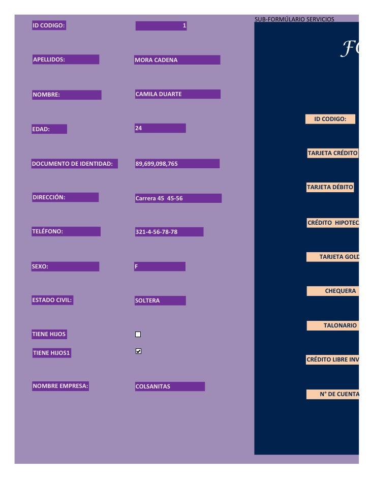 Formulario clientes (1) Slide 3