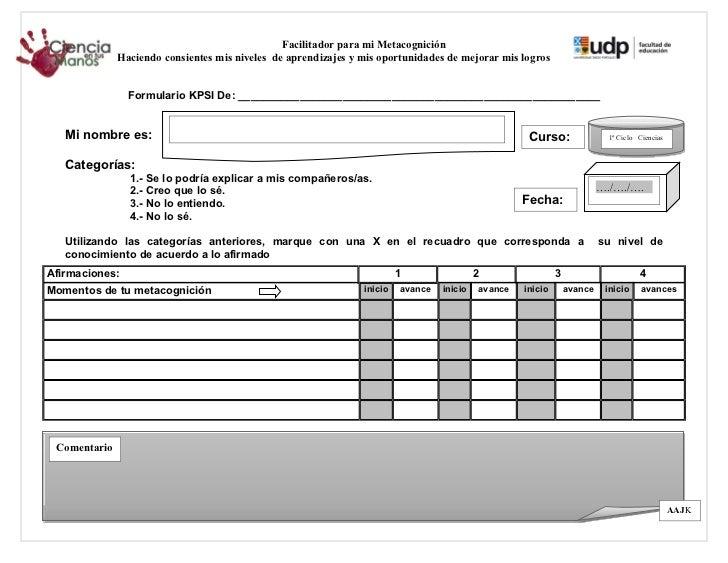Formulario kpsi (plantilla en blanco)