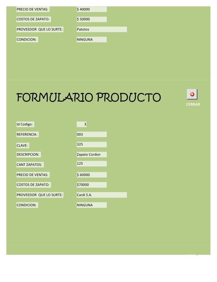 Formulario productos Slide 3