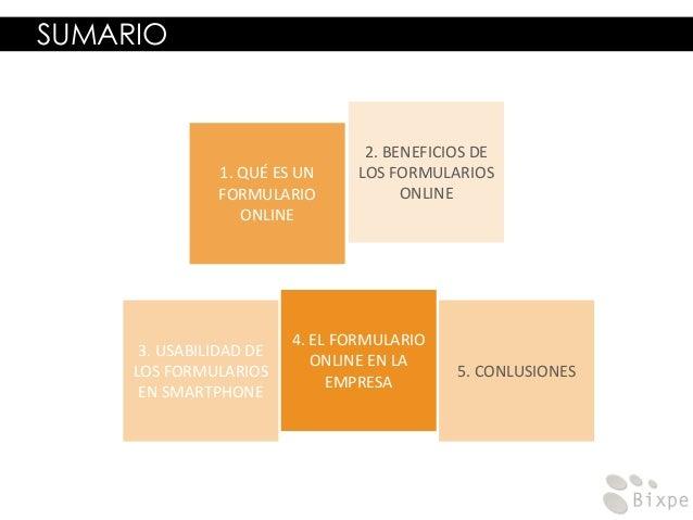 Formularios online para moviles Slide 2