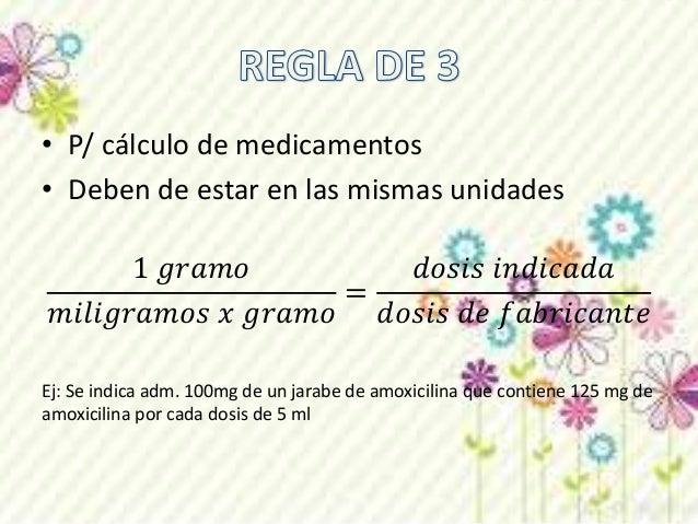 Las dosis pueden ser expresadas de varias  formas:  mg/min, mcg/min, mg/kg/min ó mcg/kg/min  Debe ser necesario converti...