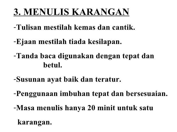 Menulis essay bahasa indonesia