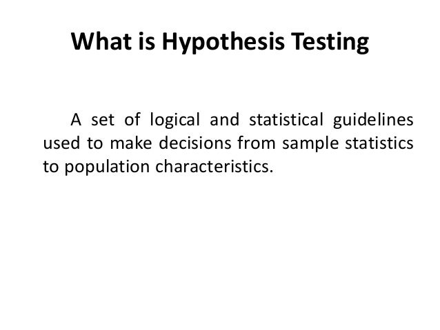 hypothesis formulation and testing 5) formulation of research hypothesis - download as powerpoint presentation (ppt), pdf file (pdf), text file (txt) or view presentation slides online research.