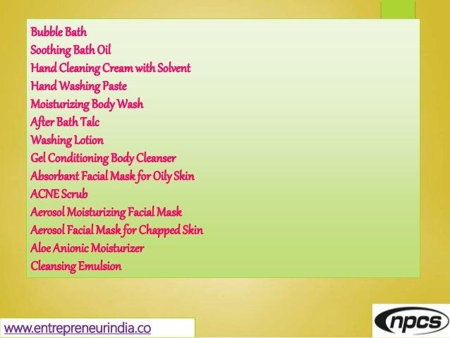 www.entrepreneurindia.co Bubble Bath Soothing BathOil Hand CleaningCreamwithSolvent Hand WashingPaste Moisturizing BodyWas...
