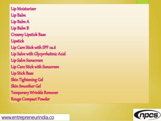 LipMoisturizer LipBalm LipBalmA LipBalmB CreamyLipstick Base Lipstick LipCare Stick withSPFca.6 LipSalve withGlycyrrhetini...