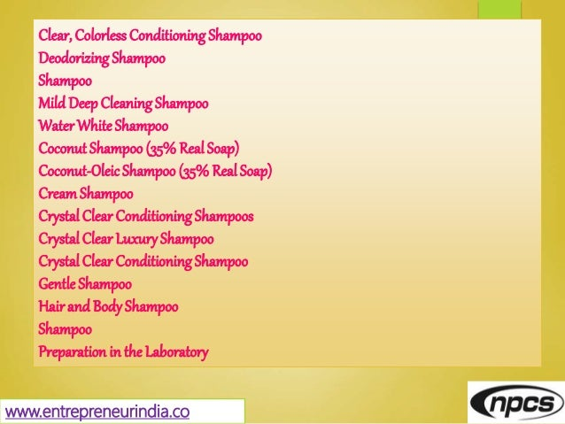 Clear, Colorless ConditioningShampoo DeodorizingShampoo Shampoo Mild DeepCleaning Shampoo WaterWhiteShampoo Coconut Shampo...