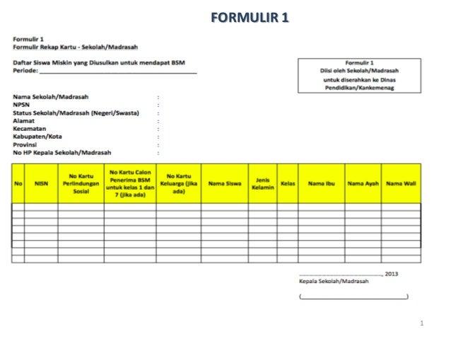 1 FORMULIR 1