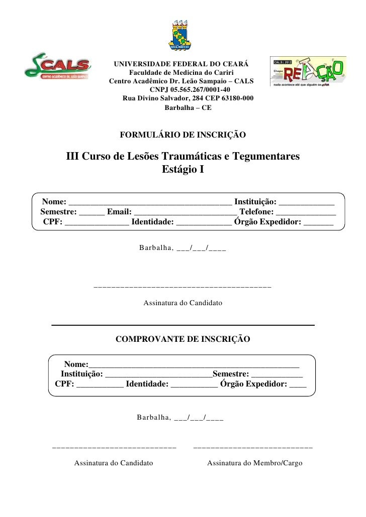 UNIVERSIDADE FEDERAL DO CEARÁ                         Faculdade de Medicina do Cariri                   Centro Acadêmico D...