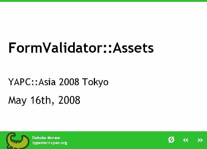 FormValidator::Assets