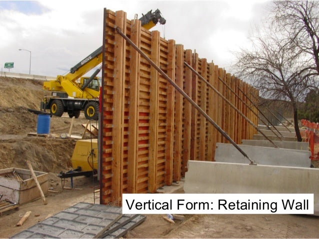 Design Of Concrete Wall Formwork : Formwork design vs falsework key differences