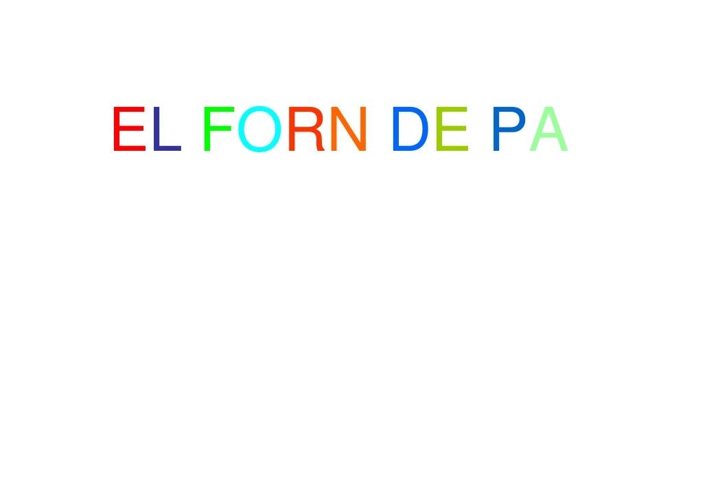 EL FORN DE PA