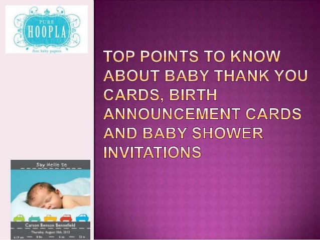 416217418 Top points to know about Baby Thank You Cards