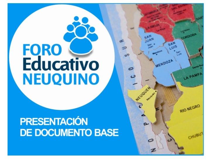 Índice    Proyectos yI   ponencias    presentadas    al Foro Educativo                                       IV           ...