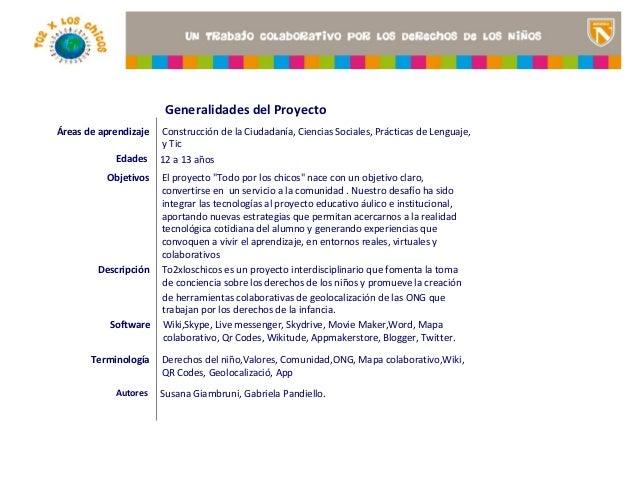 Generalidades del ProyectoÁreas de aprendizaje   Construcción de la Ciudadanía, Ciencias Sociales, Prácticas de Lenguaje, ...