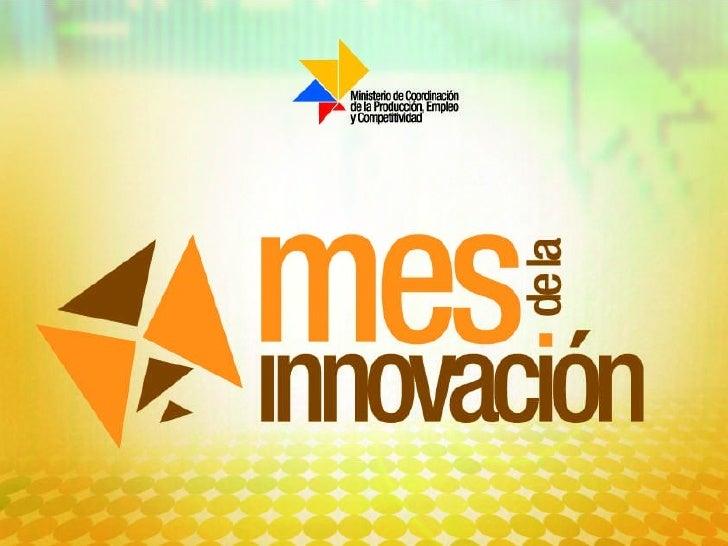 Foros de Innovación Slide 1
