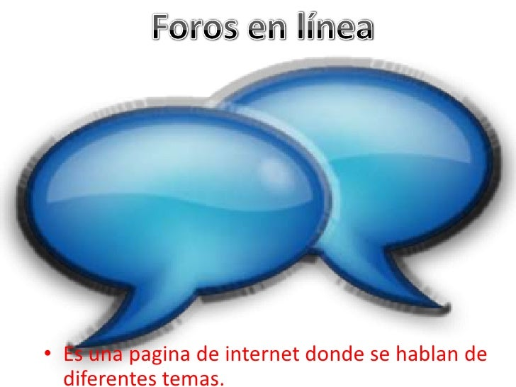 • Es una pagina de internet donde se hablan de  diferentes temas.
