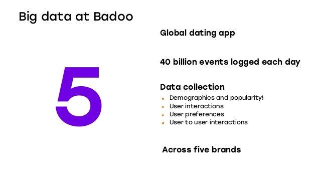 Matching data and love @ Badoo
