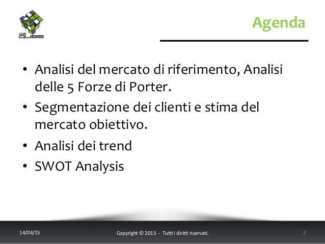 Agenda   14/04/15   Copyright  ©  2013    -‐    Tu6  i  diri6  riserva<.       2   • Anali...
