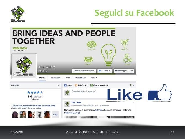 Seguici  su  Facebook   14/04/15   Copyright  ©  2013    -‐    Tu6  i  diri6  riserva<.    ...