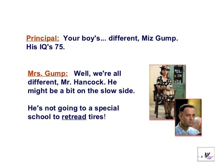 cognitive development of forrest gump What disability did forrest gump have update cancel cp is caused by a lesion on the brain during fetal development, so it can cause cognitive deficits.