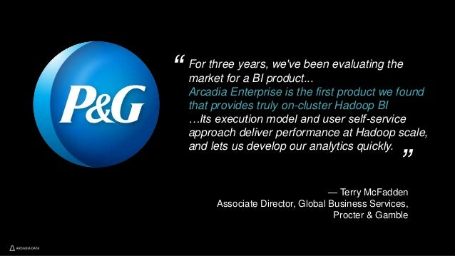 For three years, we've been evaluating the market for a BI product... Arcadia Enterprise is the first product we found tha...
