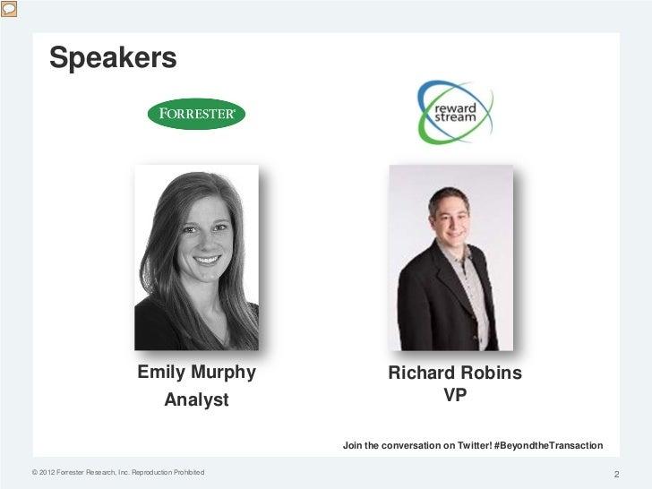 Speakers                                 Emily Murphy                      Richard Robins                                 ...