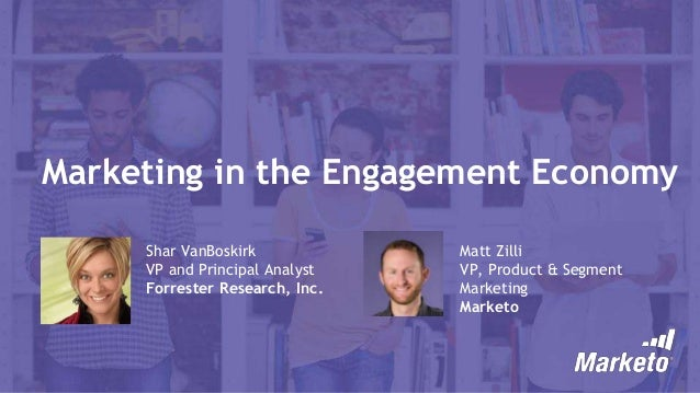 Marketing in the Engagement Economy
