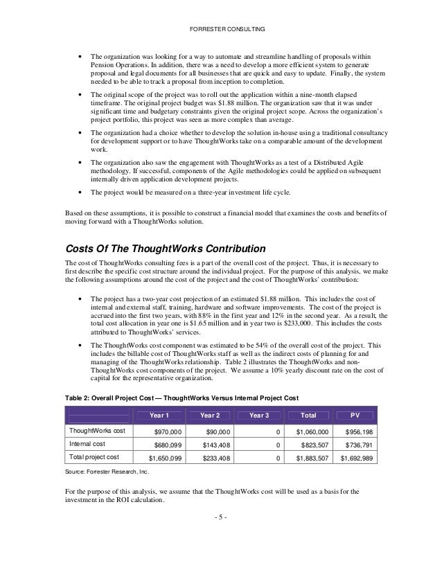 thoughtworks case study kellogg
