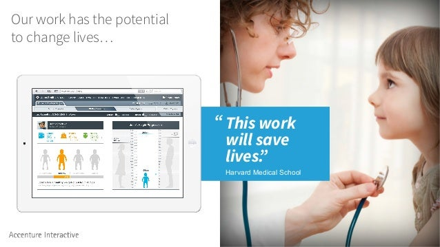 """""""This work will save lives."""" Harvard Medical School Our work has the potential to change lives…"""
