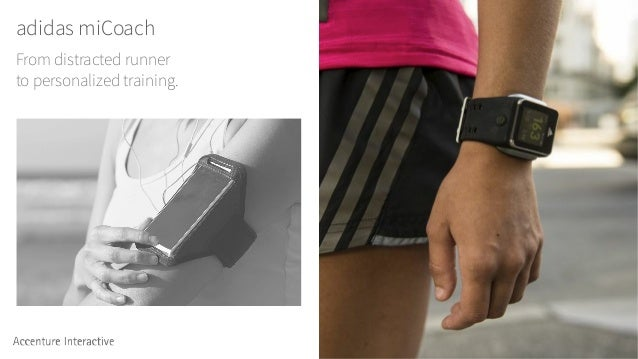 adidas miCoach From distracted runner to personalized training.