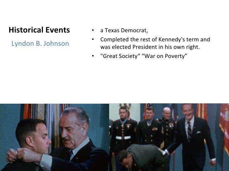 historical references in forrest gump