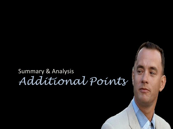 an analysis of the historic events that occur in forrest gump Forrest gump essay examples  an analysis of the historic events that occur in forrest gump  an analysis of forrest gump, a film starring tom hanks .