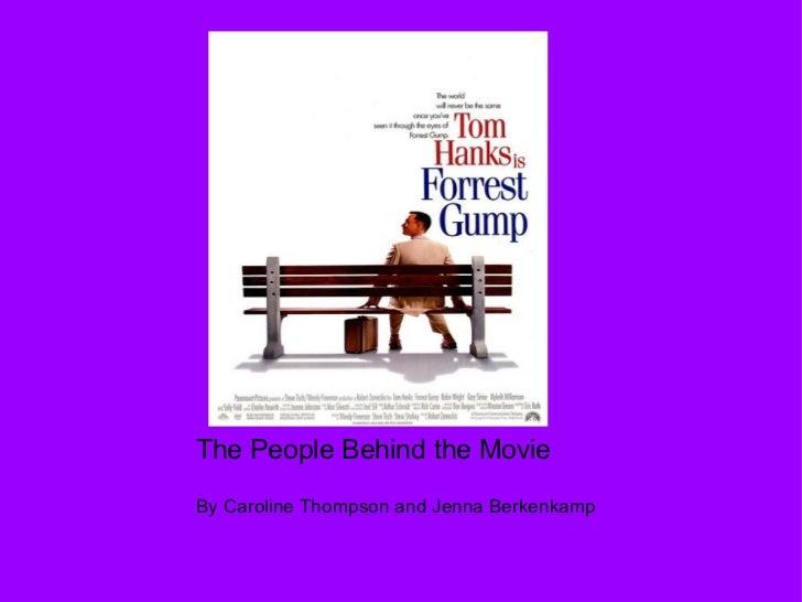 The People Behind the MovieBy Caroline Thompson and Jenna Berkenkamp