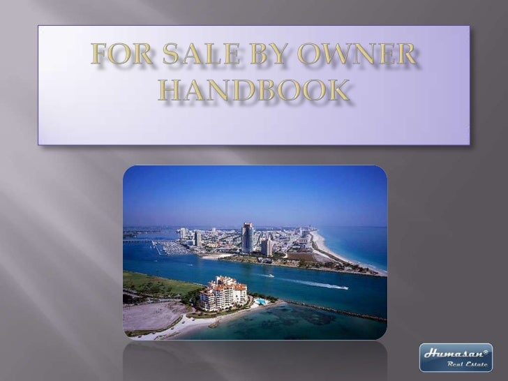 For Sale by Owner Handbook<br />