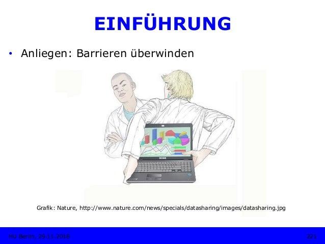 EINFÜHRUNG Grafik: Nature, http://www.nature.com/news/specials/datasharing/images/datasharing.jpg 221HU Berlin, 29.11.2018...