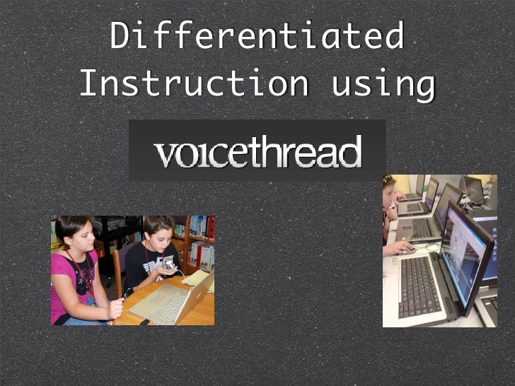 Differentiated Instruction using