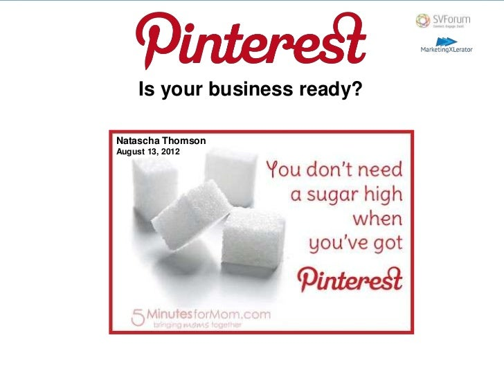 Is your business ready?Natascha ThomsonAugust 13, 2012