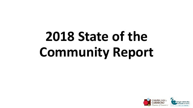2018 State of the Community Report