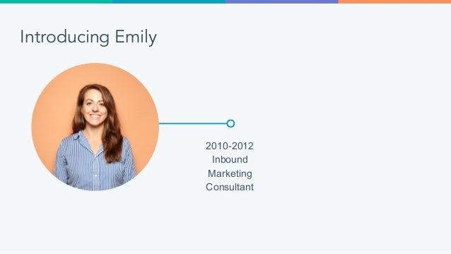 Introducing Emily 2010-2012 Inbound Marketing Consultant