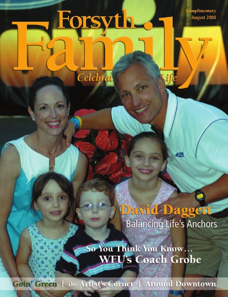 David Daggett                                                                                      COVER STORY    Balancin...